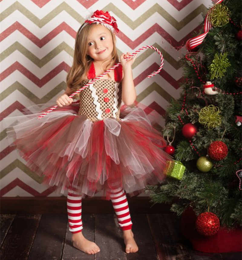 New Sweet Girl Dress Birthday Party Costumes Candy Dresses Children's Photography Cosplay Christmas Girls Baby Tutu Handmade Hot