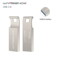 Wansenda USB Flash Drive USB 3.0 High speed Portable Pen Drive 64GB 32GB 16GB 8GB mini pendrive Memory Stick