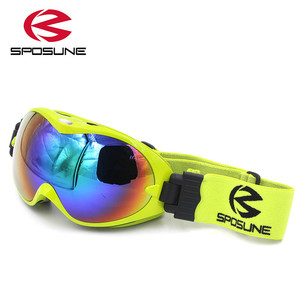Image 4 - children snow ski goggles for boys girls anti fog UV400 double lens winter snowboard glasses googles skibrille kids ski goggles