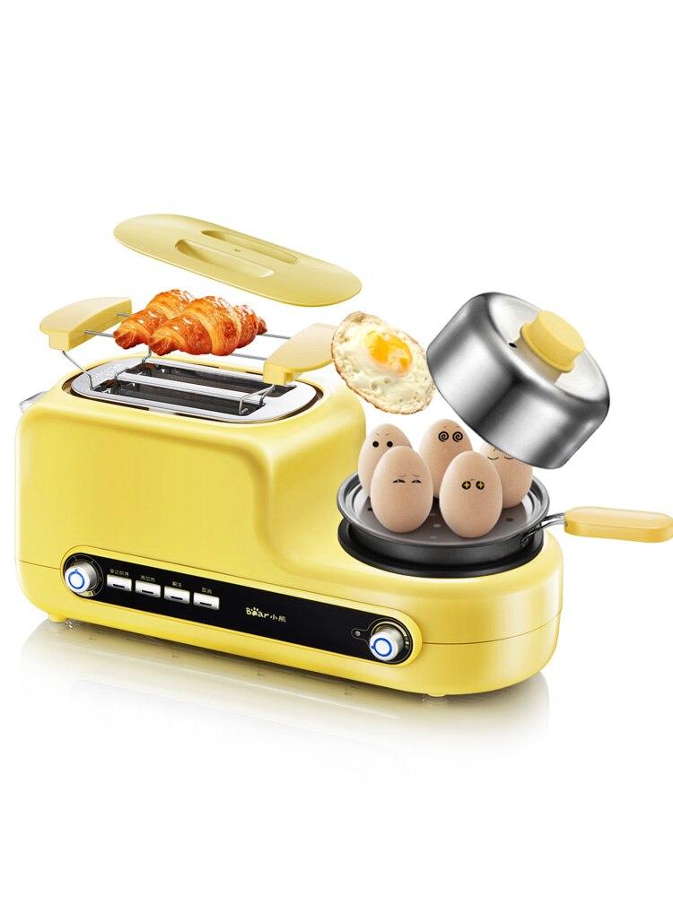 Grille-pain DSL-A02Z1 appareil électrique domestique 2 tranches petit-déjeuner grille-pain entièrement automatique grille-pain petit-déjeuner machine