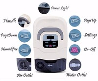 BMC CPAP Machine Medical Equipment Oxygen Concentrator Cpap Ventilator with Humidifier SD card face mask FDA CE