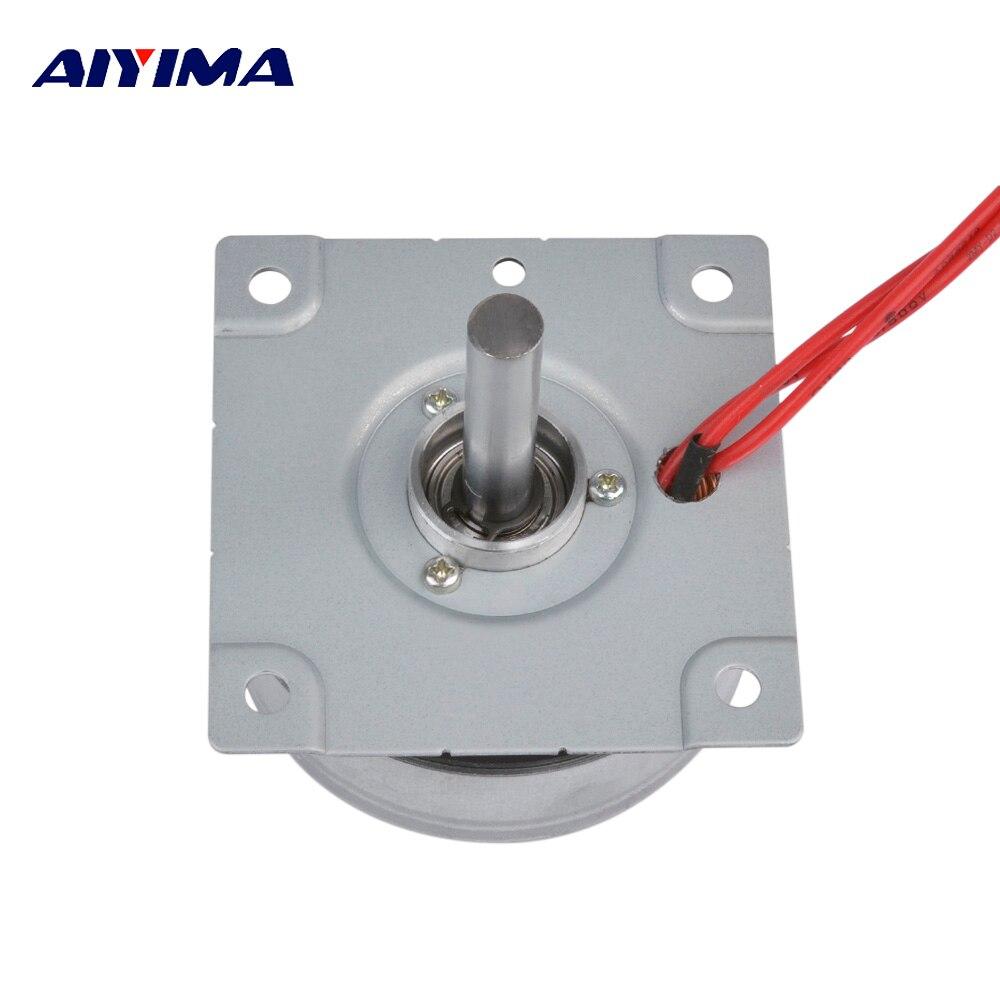 AIYIMA tres fases AC imán permanente generador de viento generador de mano DIY generador casero usado