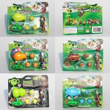 NEW PVZ Plants VS Zombies Figure Toy Coconut +Agriculture Gun Zombies Figures Toys Model Dolls Great Gift 5Styles Selectable(China)