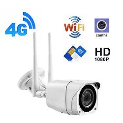 ZILNK 3G 4G WIFI Camera 1080P 960P Wireless Outdoor Security Bullet IP Camera GSM P2P H.264 Onvif APP CamHi