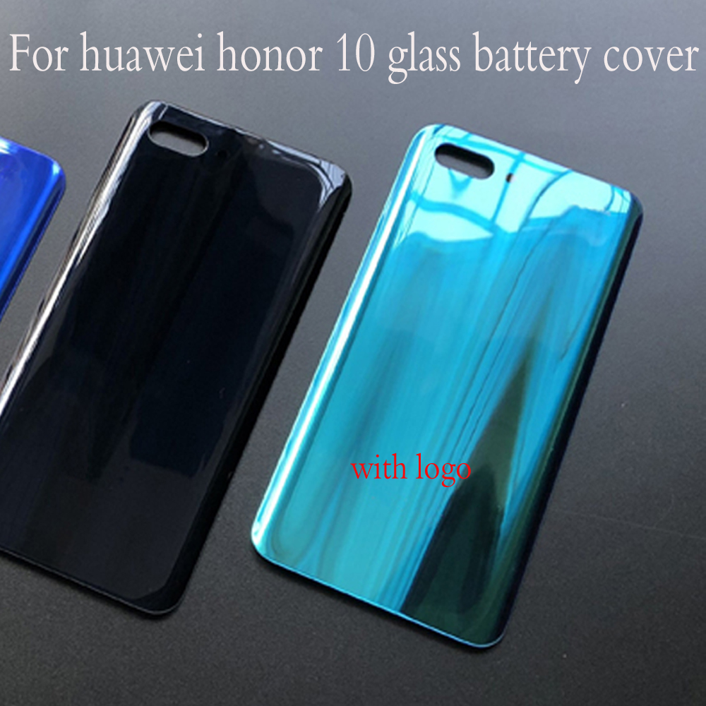 Fashion Rear Housing Cover For Huawei Honor 10 Glass Battery cover Back Door Replcement for honor10 Adhesive StickerFashion Rear Housing Cover For Huawei Honor 10 Glass Battery cover Back Door Replcement for honor10 Adhesive Sticker