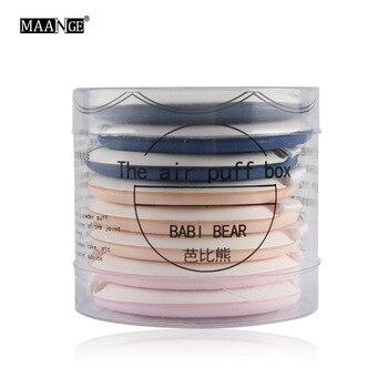 8cs/box three colors Air makeup puff BB Cream Puff Makeup Foundation Sponge Facial Powder Puff Beauty Tools 2