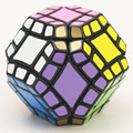 Nuevas Top Lanlan dodecaedro con 12 eje Cubo Mágico Puzzle Cubo de la velocidad Como Megaminx Cubo Mágico Juguetes Educativos de Aprendizaje como regalo