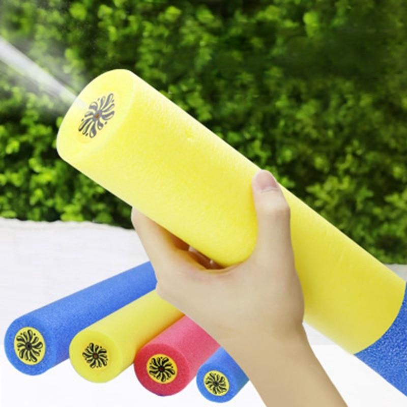 Foam Water Guns Pistol Shooter Super Cannon Kids Toys For Children Beach Swimming Water Guns Water Shooter Soakers Random Color