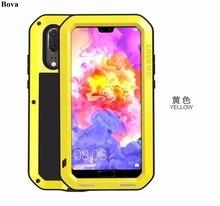 Original Love Mei Waterproof Case for Huawei P20 / P20 Pro Shockproof Rugged Case Metal Aluminum Cover