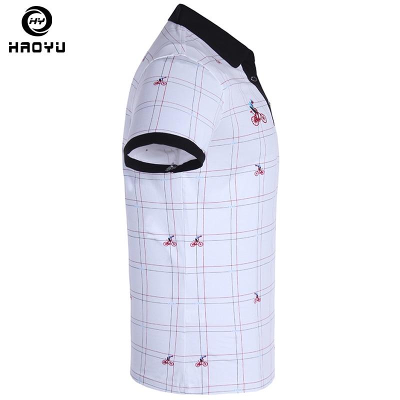 Heren poloshirt Beroemd merk Fashion Casual korte mouw Camisas - Herenkleding - Foto 3