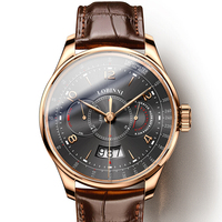Швейцария LOBINNI для мужчин часы Элитный бренд Me сапфир водостойкий relogio Miyota автоматические механические часы