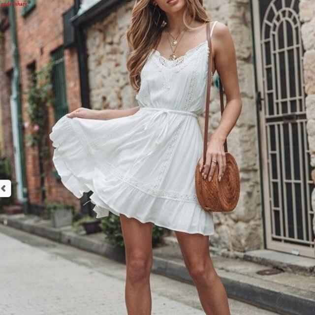 2019 Summer Sling Dress For...