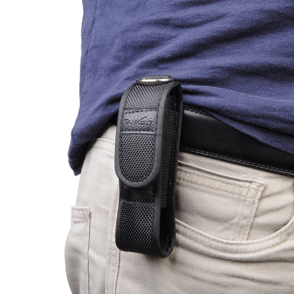 Small Flashlight Pouch Holster Accessory Tools Case Belt Buckle Designed Pouch Tactical Hunting Torch Holder