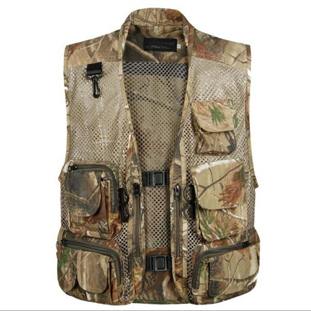 Realtree Camo Vest Breathable Realtree Hunting Vest Camouflage