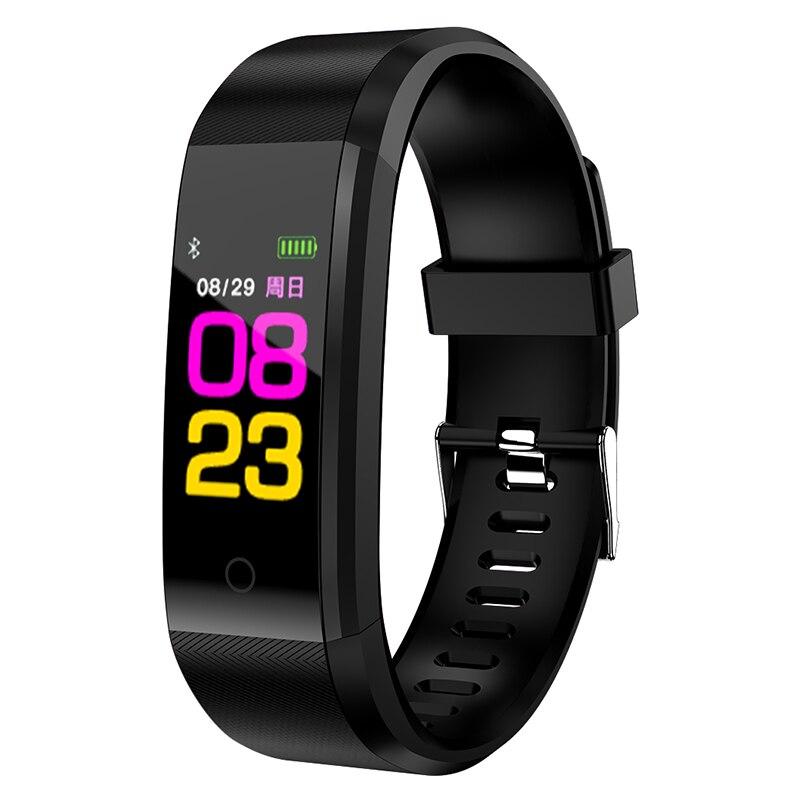 2018 B05 Smart Bracelet Cicret bande Montre moniteur de fréquence Cardiaque Smartband Pulsomètre Sport santé Physique Bracelet tracker pour IOS