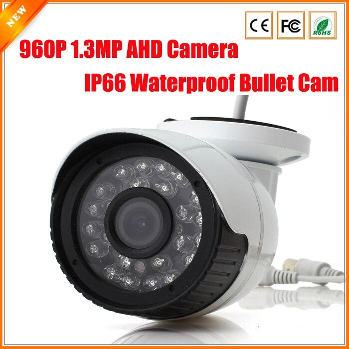 bilder für BESDER IP66 Wasserdichte Gewehrkugel Außen AHD Kamera 2.0MP 3000TVL 1.3MP 1.0MP 2500TVL Kamera AHD 1080 P 960 P 720 P 24IR LED IR Cut