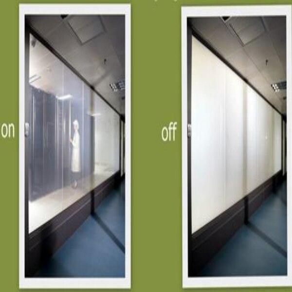 140 cm x 280 cm Intelligent Pdlc film pour Fenêtre en verre décoration Commutable smart film Magique fenêtre de la vie privée film
