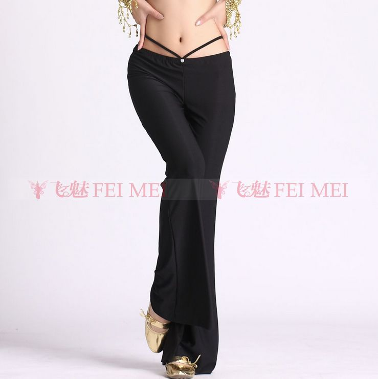 Belly Dance Dancing Wear Costume Diamond Crystal Cotton Belly Dance Pants