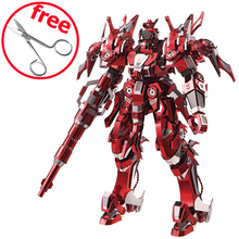 2017 Piececool DIY 3D Puzzle Toy, Red Thunder 3D Metal Puzzles Model, Collectable Model Robot, Kids Toys, Brinquedos Gift