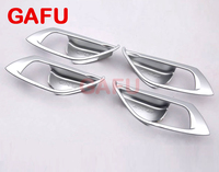 For MAZDA CX 5 CX5 2017 2018 Car Door Handle Bowl Covers ABS Chrome Trim Chromium Styling Interior Decoration Accessories