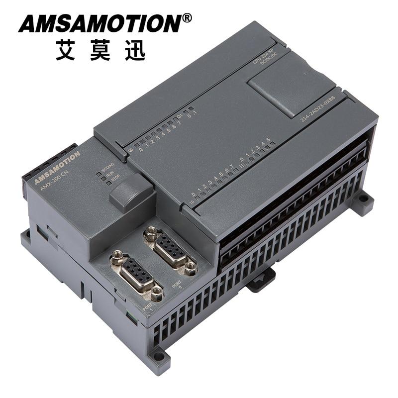 Promotion!!! Amsamotion PLC D'origine S7-200CN CPU224XP 14I/10O 2AI 1AO Relais 6ES7 214-2BD23-0XB8 Transistor 214-2AD23-0XB8 PLC