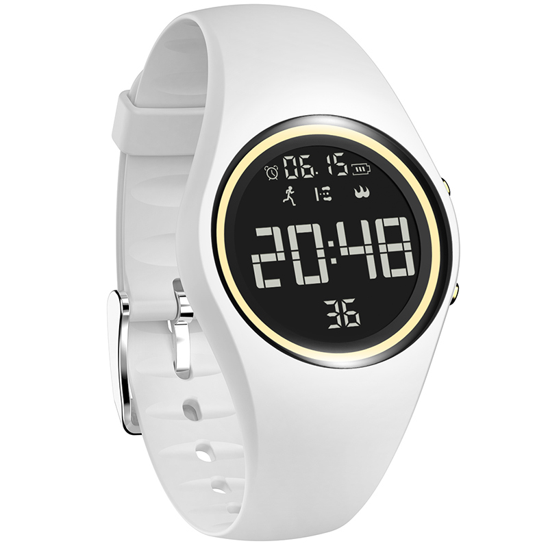 NEW Colorful Smart Sports Fitness Watch Women Fashion Creative Watches Waterproof Pedometer Motion Detection Digital Clock 2019(China)