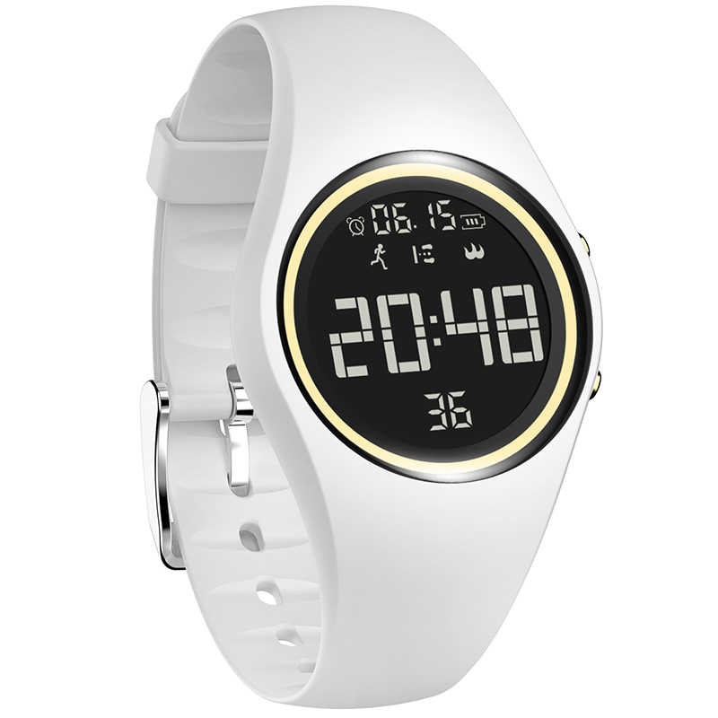 NEW Colorful Smart Sports Fitness Watch Women Fashion Creative Watches Waterproof Pedometer Motion Detection Digital Clock 2019