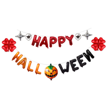 Halloween Pumpkin Ghost Balloons Halloween Decorations Spider Foil Balloons Inflatable Toys Bat Halloween Party Supplies pikaalafan giant inflatable toys halloween easter funny doll inflatable props terror ghost hug people inflatable clothes cosplay