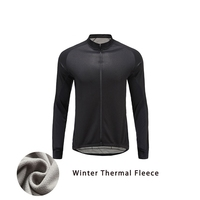 Mens Cycling Jersey Long Sleeve Autumn Winter Team Sports Jerseys Thermal Warm Cycling Clothing Men Bicycle Wear Mtb Jersey