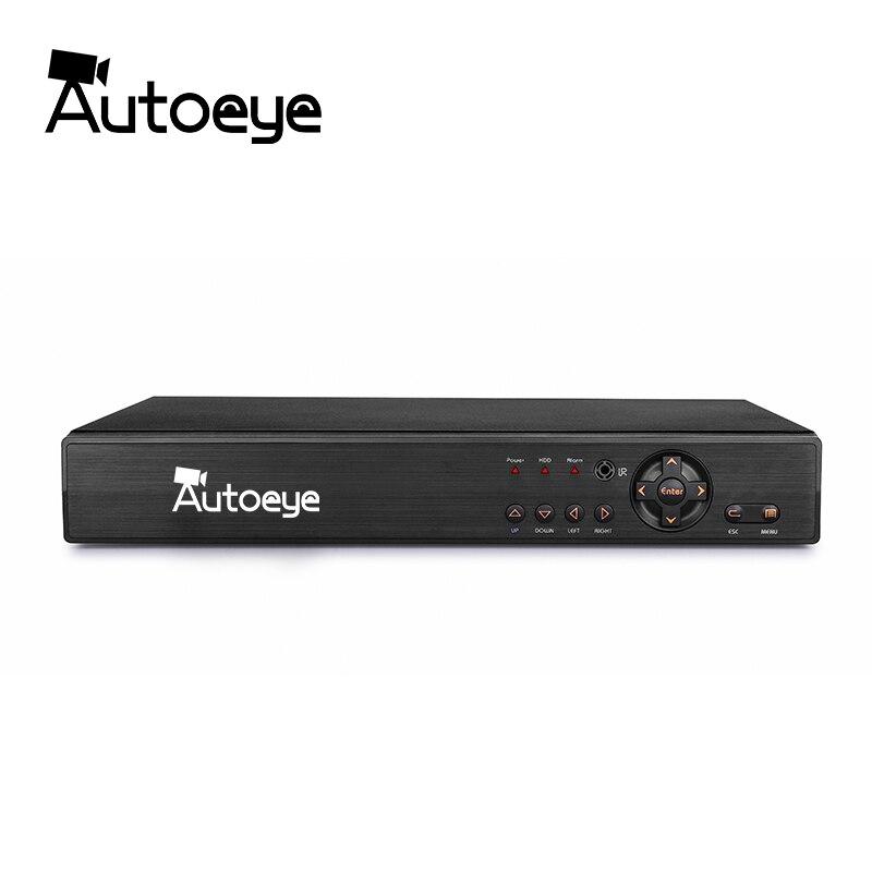 Autoeye 8CH 1080 P CCTV DVR NVR HVR 5 DANS 1 Soutien AHD CVI TVI CVBS Caméra IP Onvif 5MP NVR P2P Voir Soutien RS485 Coxial Contrôle