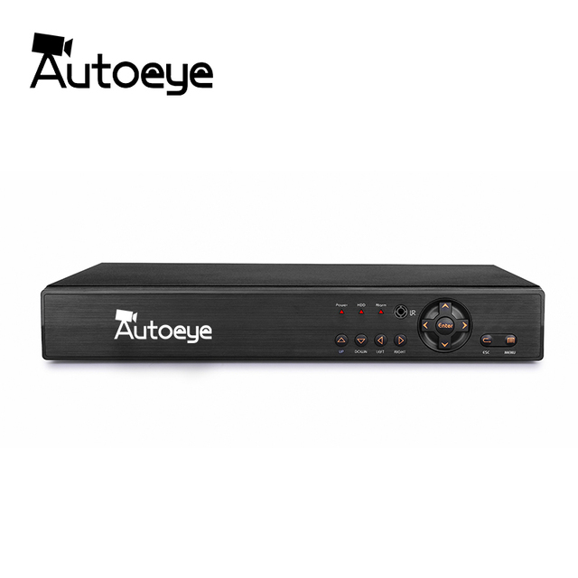 Autoeye 8CH 1080P CCTV DVR NVR HVR 5 в 1 поддержка AHD CVI TVI CVBS ip-камера Onvif 5MP NVR P2P просмотр Поддержка RS485 Coxial управление