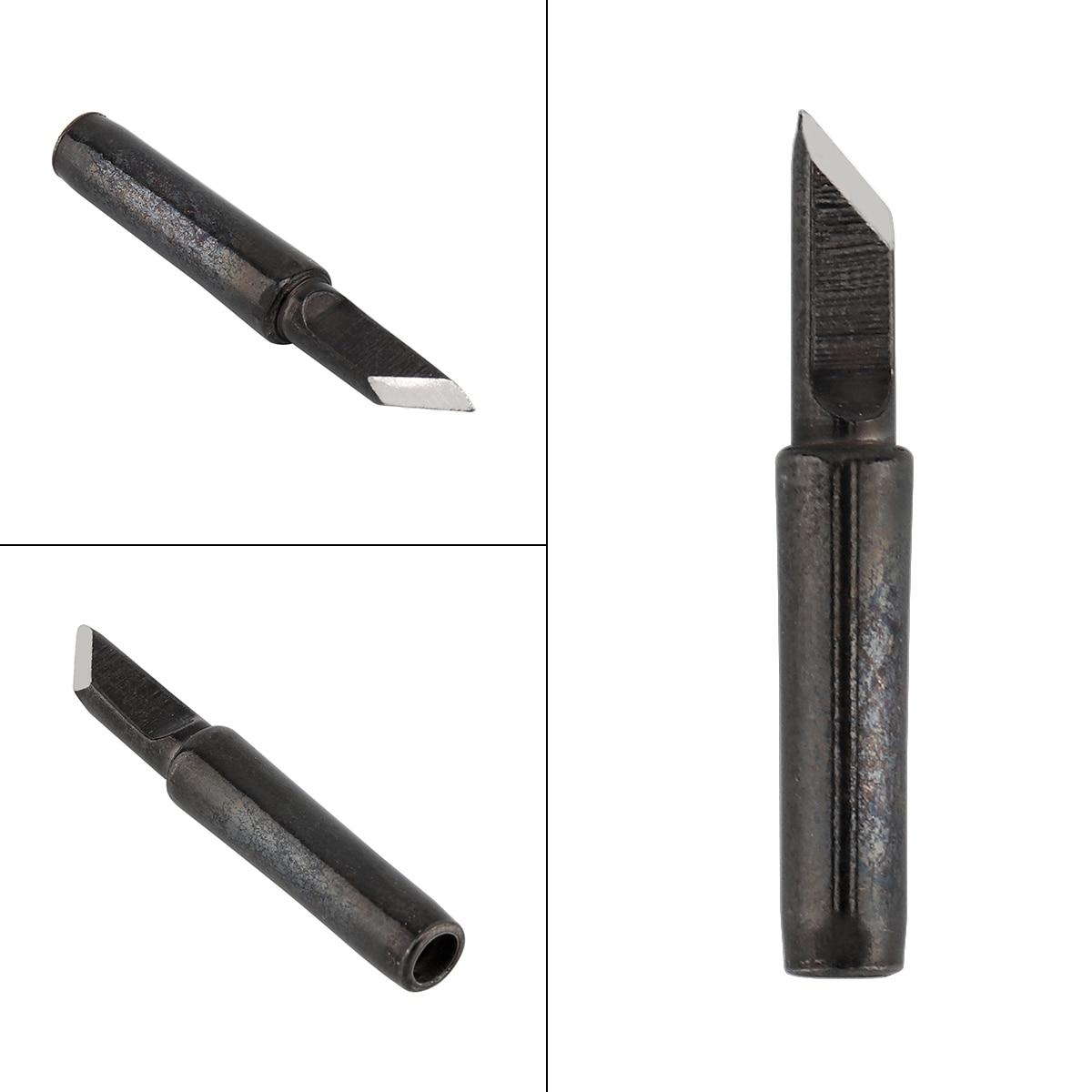 900M-T-SK Solder Tip Lead-free Black Metal Soldering Iron Tips for Hakko / 936 Soldering Rework Station