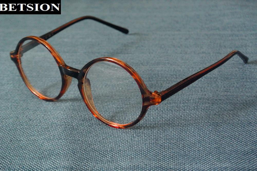 Vintage 43/45/47/50/52/54/58mm Round Eyeglasses Frames Wome Men Glasses Eyewear