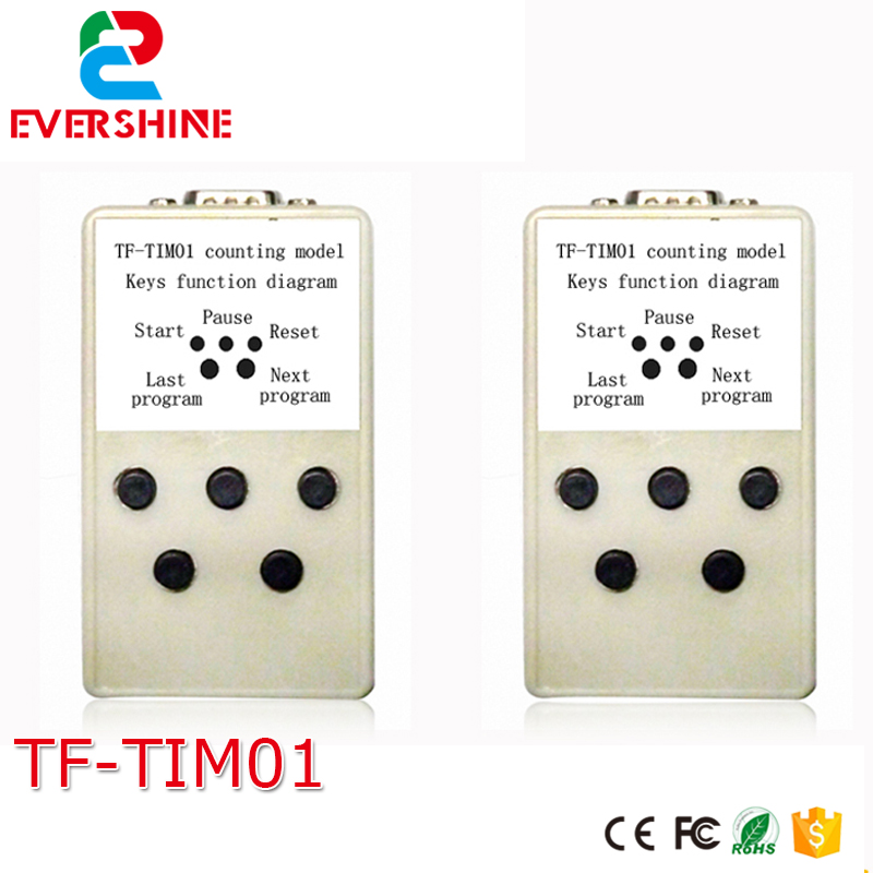TF-TIM01 counting model Remote controller can used with TF-CNT and some big control card