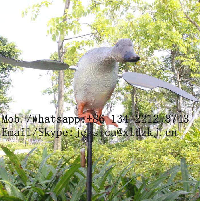 ФОТО Dc 12V Plastic Mojo Motorized Hunting Mallard Ducks With Remote