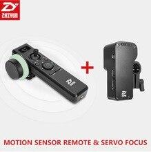 Zhi yun Gru 2 Telecomando con Sensore di Movimento Segue Il Fuoco Giunto Cardanico Accessori/Crane2 Servo Segue Il Fuoco per tutti i telecamere