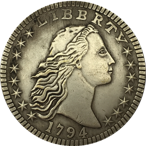 1794 type2 Draped Bust Dollar COIN COPY FREE SHIPPING