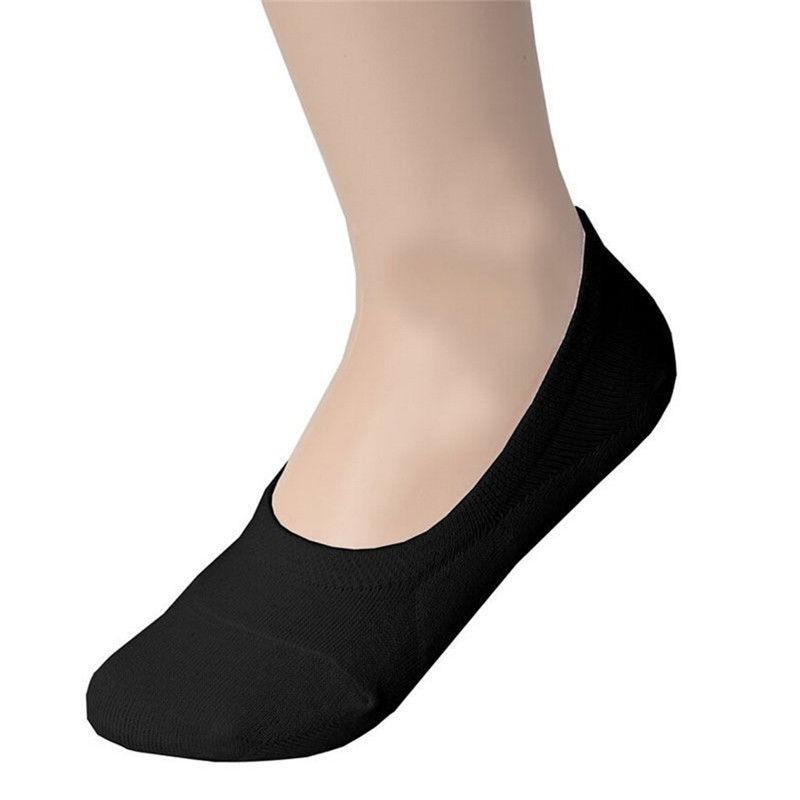 Men's Non-Slip Invisible Sock Low Cut No Show Slippers Meias Sock Men's Short Sock 1Pair New Boat Sock