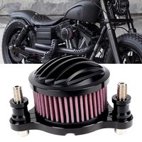 CNC Rough Crafts Air Cleaner Fits For HD Harley Sportster 2004 2014 XL Intake Filter System