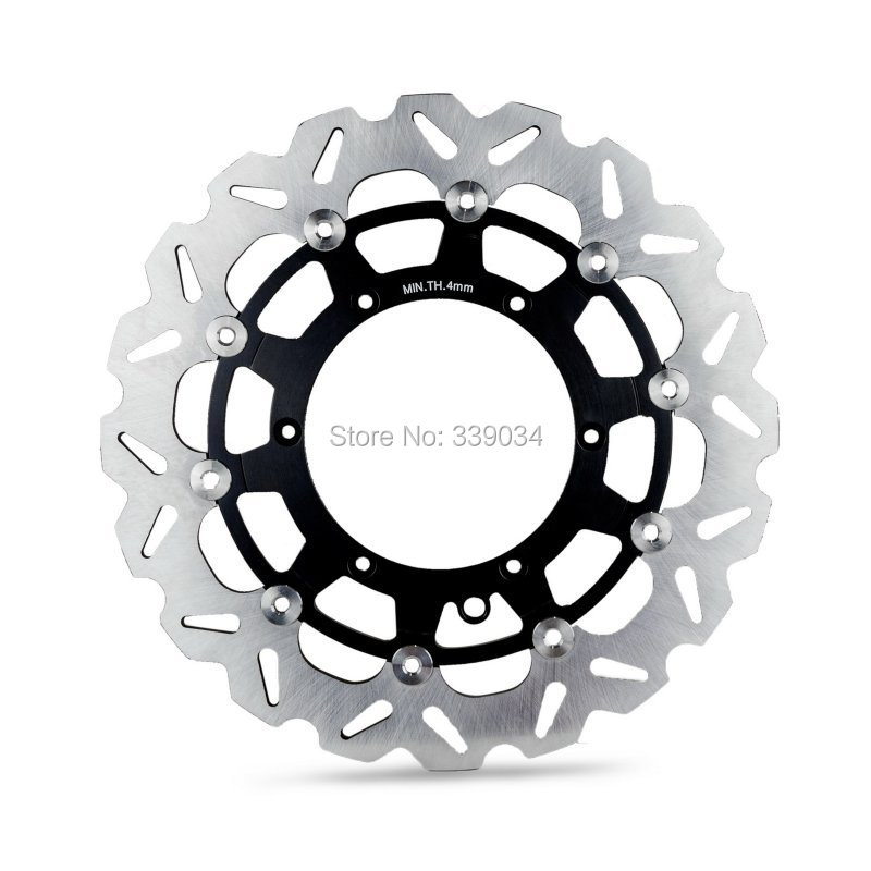 Supermoto front brake disc rotor 320mm for ktm 125-640cc sx/sx-f/xc/xc-w/mx/exc/sxc