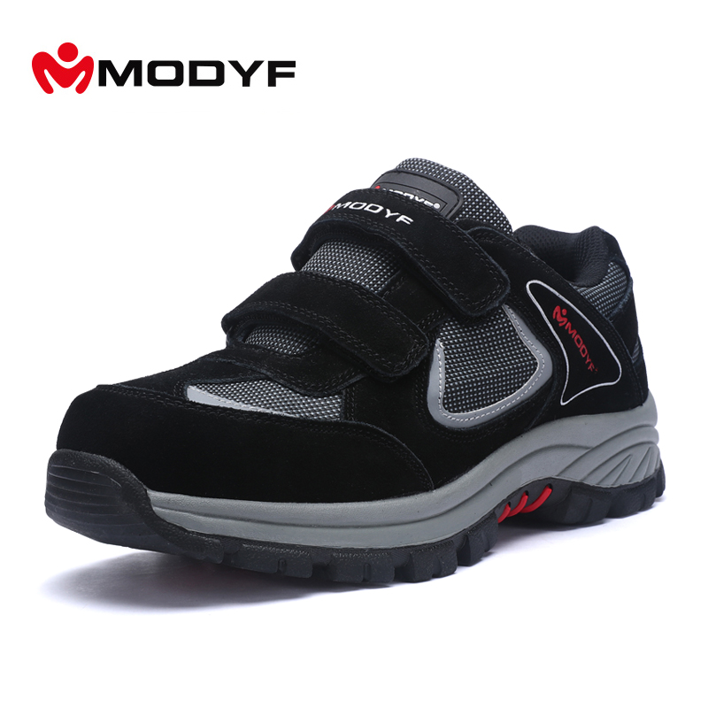 Free shipping winter man work shoes Steel Toe Cap work Safety shoes outdoor fashion motorcycle boots steel toe footwear