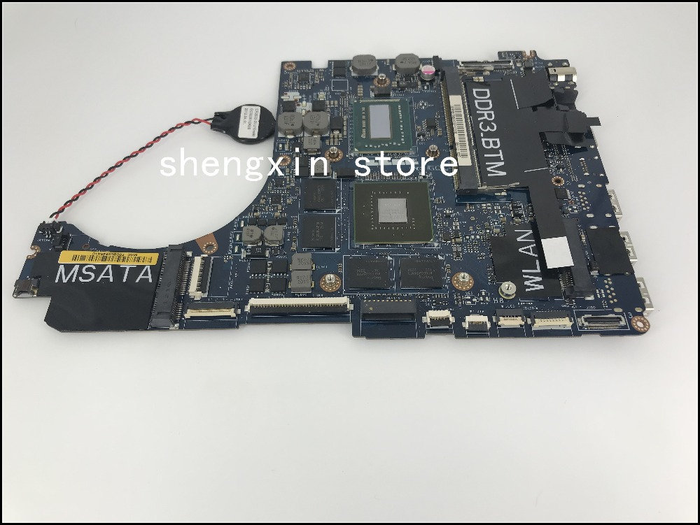 QBL00 LA-7851P For Dell XPS 15 L521X Laptop Motherboard CN-0HKTTR 0HKTTR I7-3612QM Test 100%