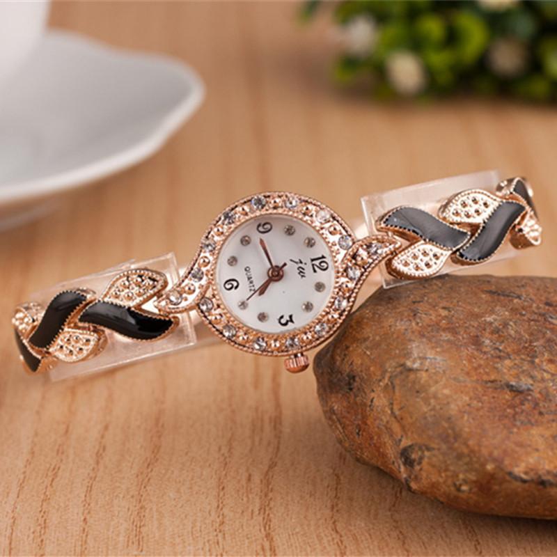 1a670f2dd1 2018 New Brand JW Bracelet Watches Women Luxury Crystal Dress Wristwatches  Clock Women's Fashion Casual Quartz Watch reloj mujer