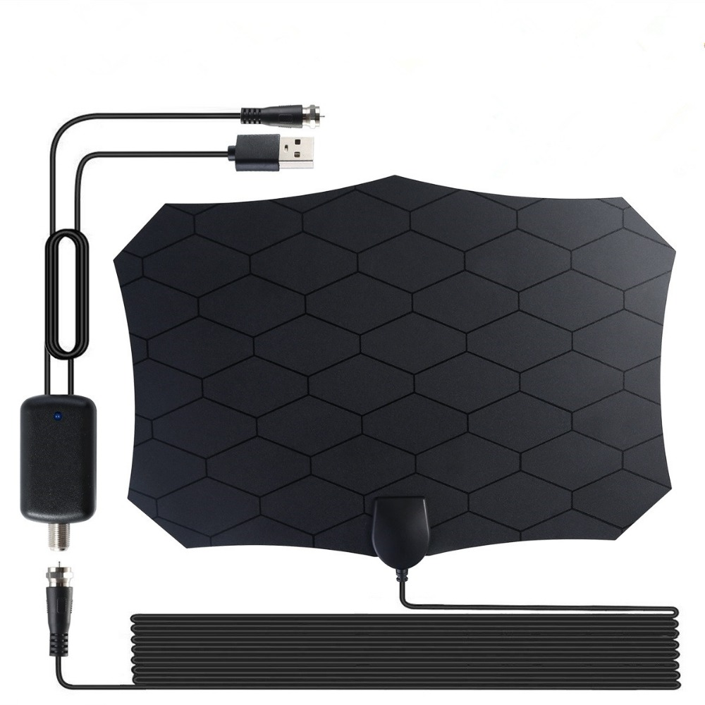 AH-LINK 120 Miles For Digital TV 25DB HDTV Antenna With Indoor