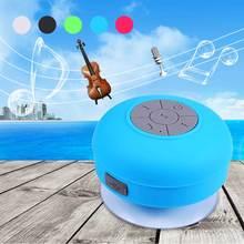Mini  Waterproof IP45 LED Bluetooth 3.0 Portable Speaker Water Resistant Wireless Shower HIFI