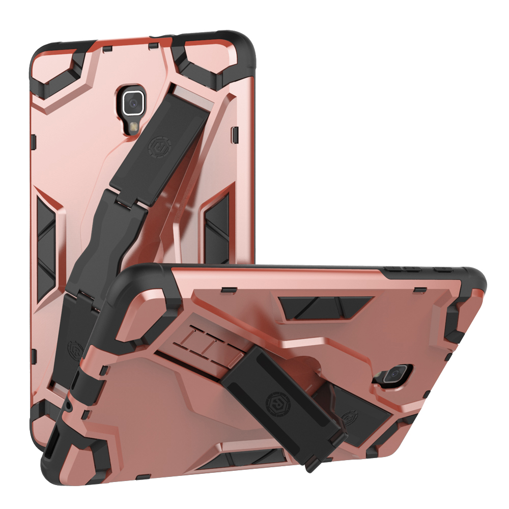 For Samsung Galaxy Tab A 8.0 (2017) T380 T385 Tablet Case Protective Cover Hard PC & Soft TPU Hybrid Armor Kickstand Back Cover