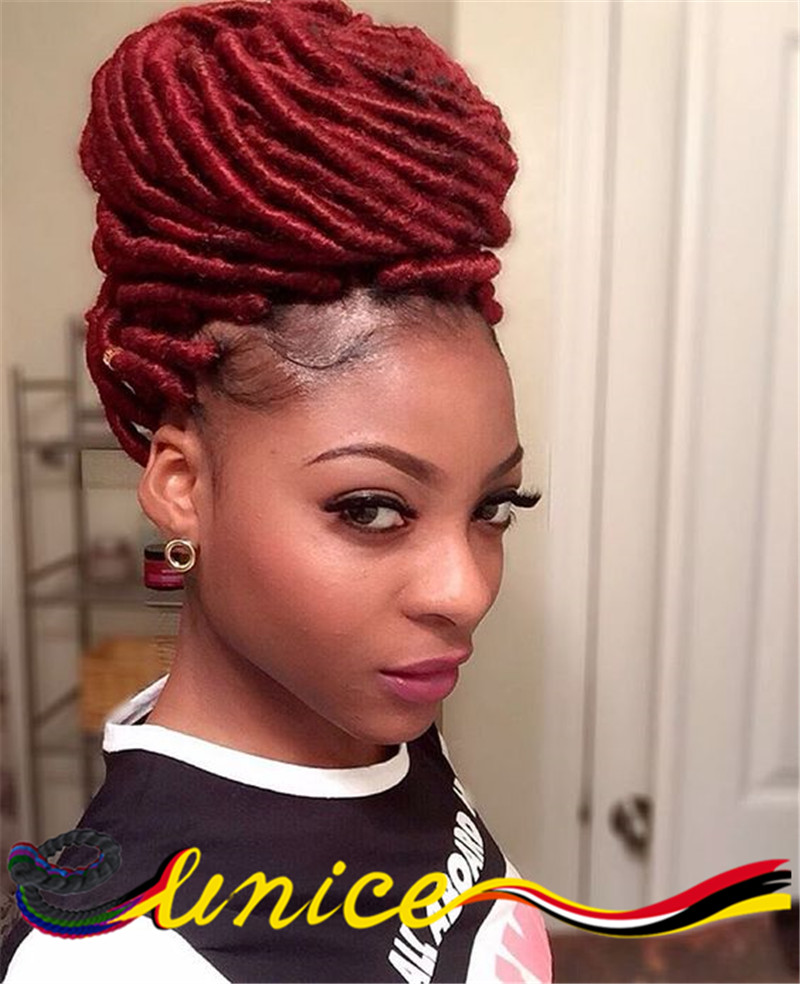 Locs Extension Hairstyles Fade Haircut