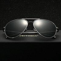 New Unisex POLARIZED Aviator Sunglasses Mens Womens Vintage Retro HD Mirrored Yurt Polarizing Sunglasses For Men
