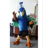 ohlees Peacock Mascot Costume for halloween chirstmas perform Animal costume Party cosplay Advertising articles