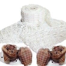 3 метра хлопковая сетка для мяса, ветчины, колбасы, сетка для мясника, сетка для колбасы, сетка для хот-догов, инструменты для упаковки колбасы, инструмент для приготовления мяса